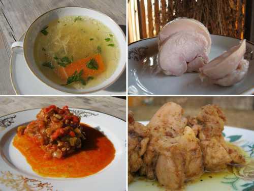 аппетитная курица в банке, запеченная в духовке